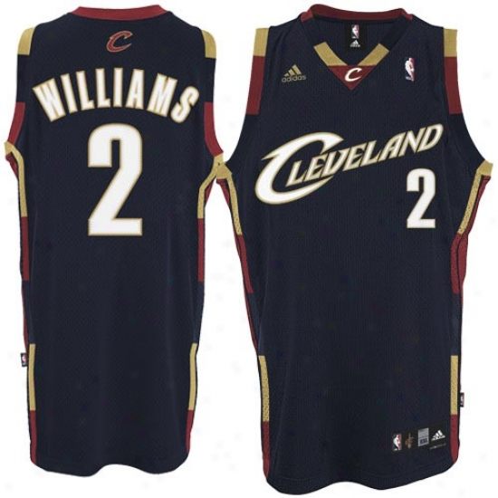 Cleveland Cavaliers Jerseys : Adidas Cleveland Cavaliers #2 Mo Williams Navy Blue Swingman Basketball Jerseys