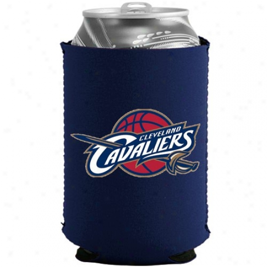 Cleveland Cavaliers Navy Blue Coilapsible Can Coolie