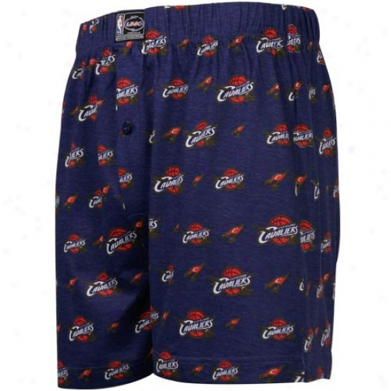 Cleveland Cavaliers Navy Blue My Team Boxer Shorts