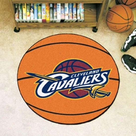 Cleveland Cavaliers Orange Round Basketball Mat