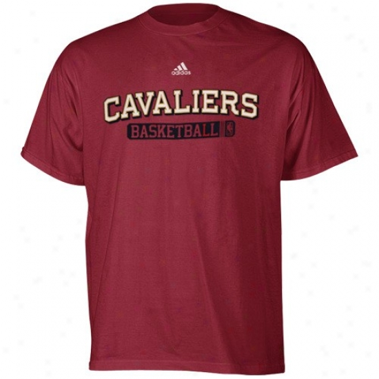 Cleveland Cavaliers Shirts : Adidas Cleveland Cavaliers Wine Kappa Sigma Shirts