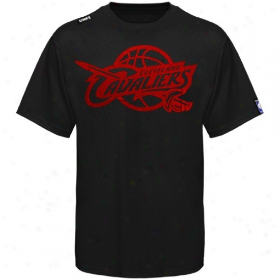Clevepand Cavaliers T Shirt : Cleveland Cavaliers Youth Black Foik Game T Shirt