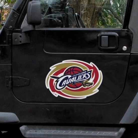 Cleveland Cavaliers Team Logo Car Magnet