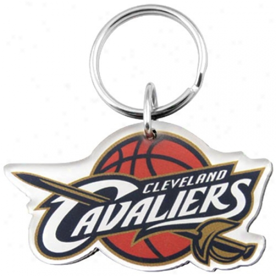 Cleveland Cavaliers Team Logo High Definition Keychain