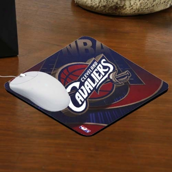 Cleveland Cavaliers Team Logo Neoprene Mousepad