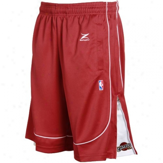 Cleveland Cavaliers Wine Nba Shooter Shorts