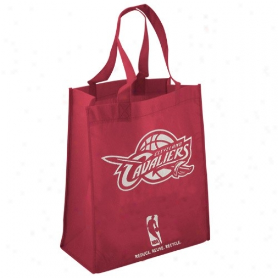 Cleveland Cavaliers Wine Reusable Tote Bag