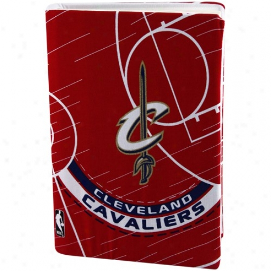 Cleveland Cavaliers Wine Stretchable Book Cover