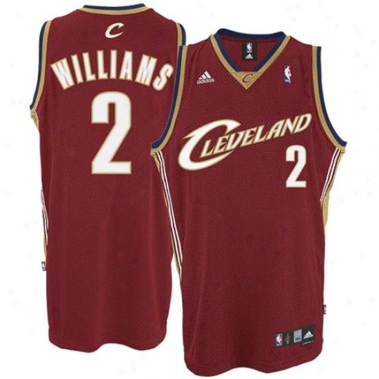 Cleveland Cavs Jersey : Adidas Cleveland Cavs #2 Mo Williams Wine Swingman Basketball Jersey