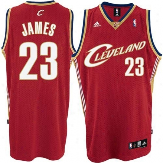 Cleveland Cavs Jersey : Adidas Cleveland Cavs #23 Lebron James Youth Red Swingman Basketball Jersey