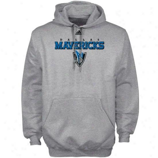 Dallas Mav Swweatshirt : Adidas Dallas Mav Ash True Cpurt Sweatshirt