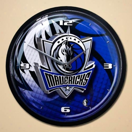 Dallas Mavericsk 12'' Wall Clock