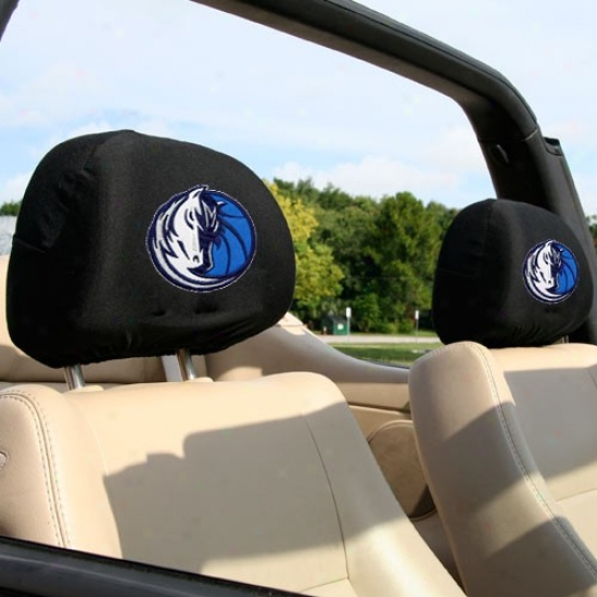 Dallas Mavericks 2-pack Headrest Covers