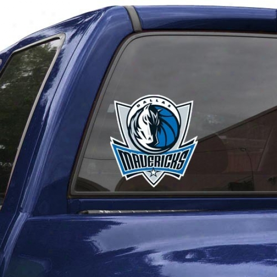 """dallas Mavericks 8"""" X 8"""" Color Team Logo Czr Decal"""