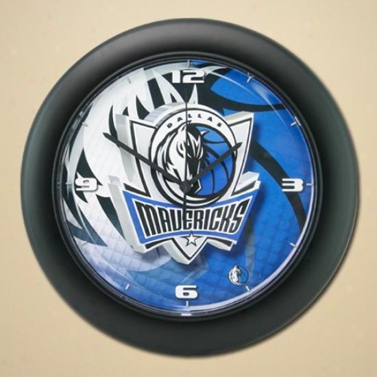 Dallas Mavericks High Definition Wall Clock