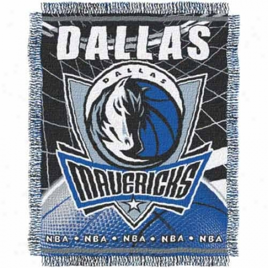 Dallas Mavericks Jacquard Woven Blanket Throw