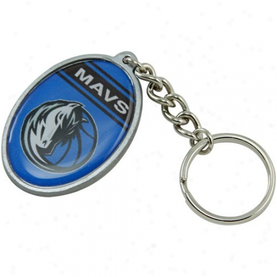 Dallas Mavericks Oval Keychain