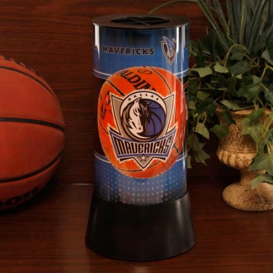 Dallas Mavericks Rotatibg Lamp