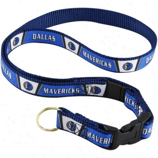 Dallas Mavericks Royal Pedantic  Lanyard