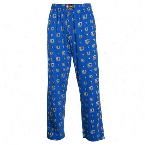 Dallas Mavericks Royal Blue My Team Pajama Pants