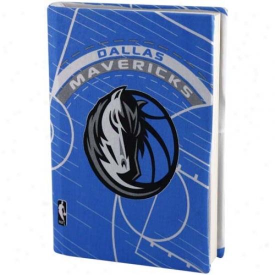 Dallas Mavericks Royal Blue Stretchable Book Cover