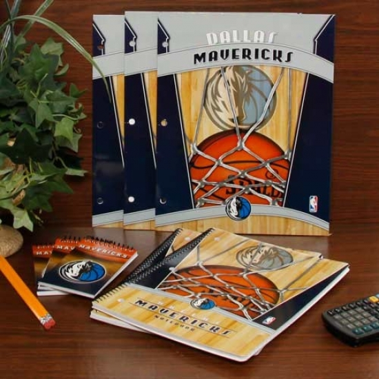 Dallas Mavericks School Combo Pack