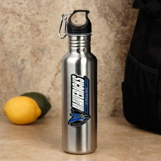 Dallas aMvericks iSlver Stainless Steel Water Bottle