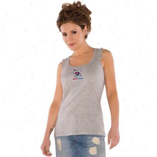 Denver Nugget Attire: Touch By Alyssa Milano Denver Nugget Gray Summer Breeze Tank Top