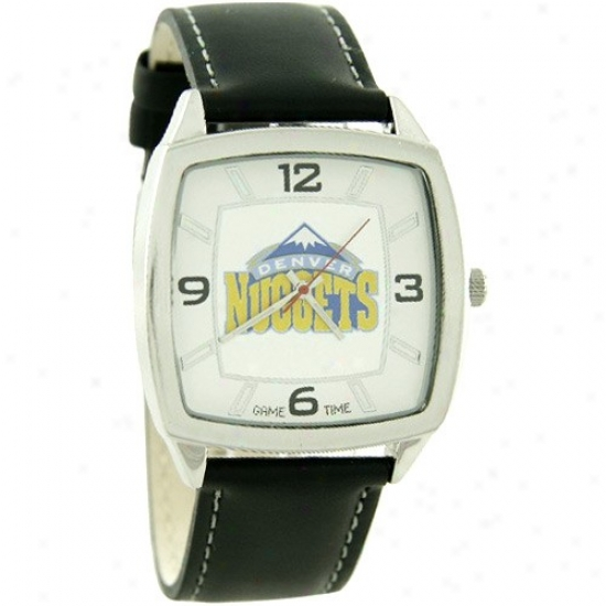 Denver Nugget Watches : Denver Nugget Retro Watches W/ Leather Band