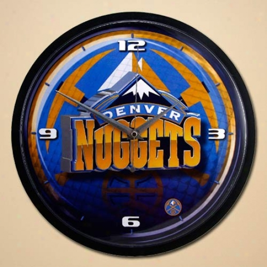 Denver Nuggets 12'' Wall Clock