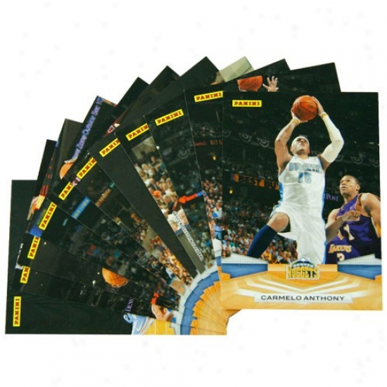 Denver Nuggets 2009 Panini Team Set Collectible Cards
