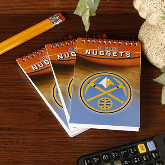 Denver Nuggets 3-pack Team Memo Pads