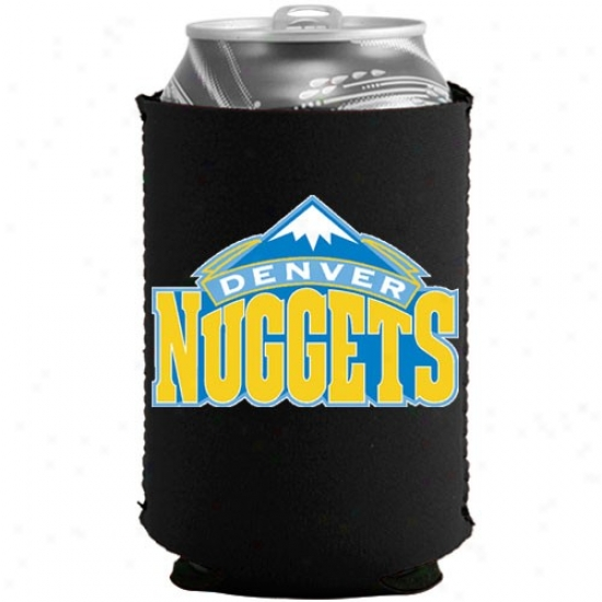 Denver Nuggets Black Collapsible Can Coolie