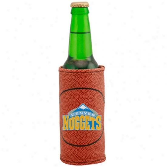 Denver Nuggets Brown Basketball Bottle Coolie