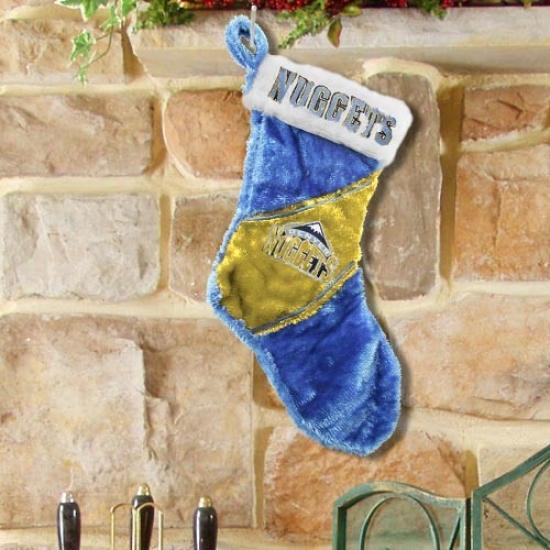 Denver Nuggets Colorblock Plush Stocking