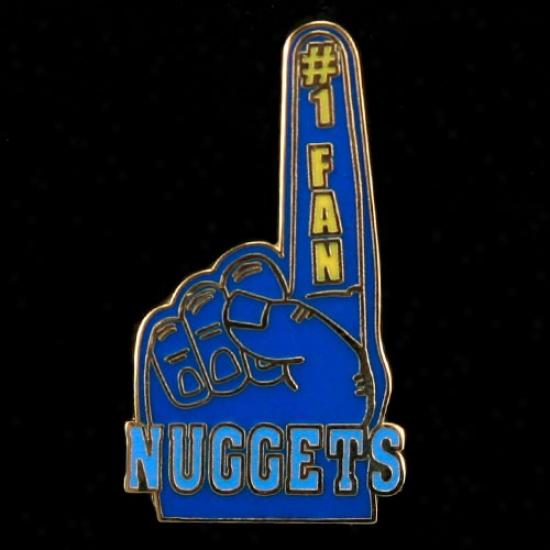 Denver Nuggets Hats : Denver Nuggets #1 Fan Pin