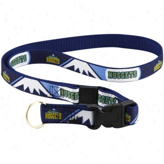 Dnver Nuggets Navy Blue Lanyard