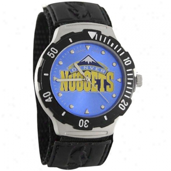Denver Nuggets Wrist Watch : Denver Nuggets Agent V Wrlst Watch