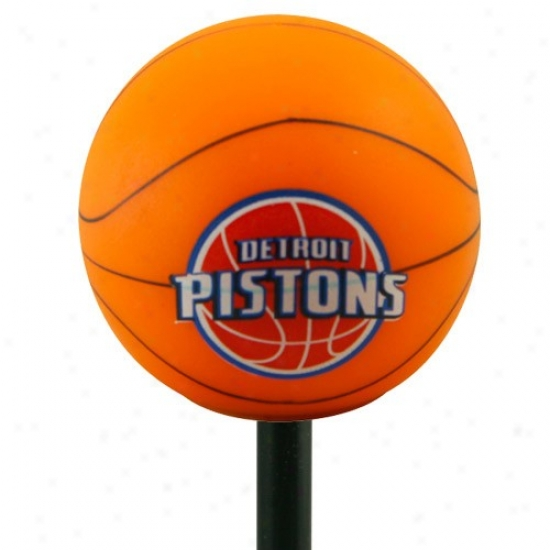 Detroit Pistons Basketball Antenna Topper