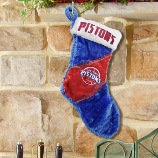 Detroit Pistons Colorblock Plush Stocking