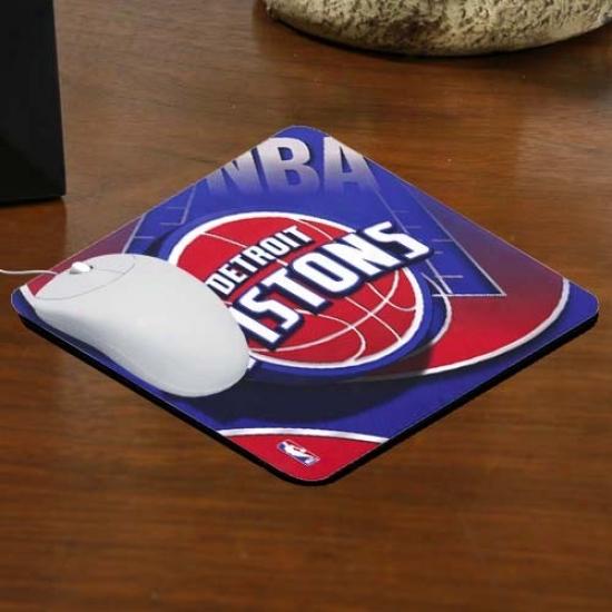 Detroit Pistons Team Logo Neoprene Mkusepad
