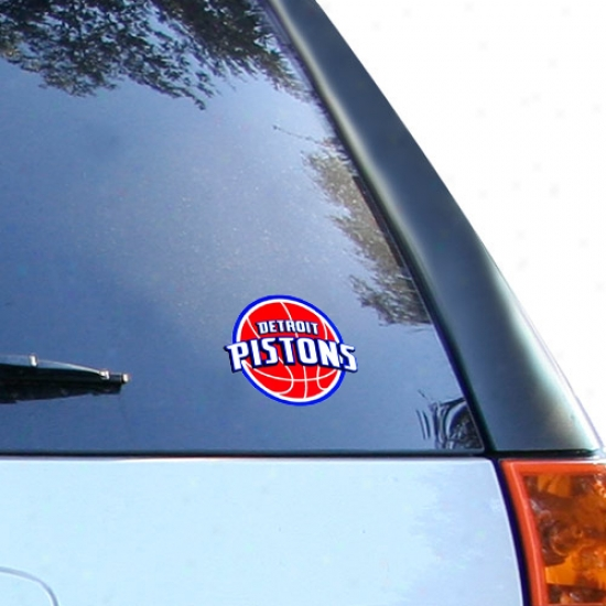 Express Detroit Pistons Petty Window Cling