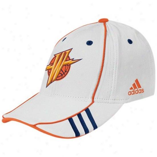Golden State Warrior Hats : Adidas Golden State Warrior White Nba 07 Draft Day Hats