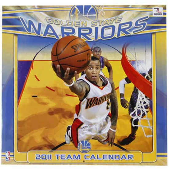 Golden State Warriors 2011 Wall Calendar