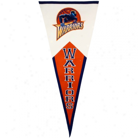 Golden State Warriors Classic Mascot Wool Pennant