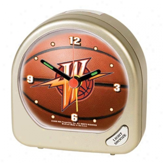 Golden State Wwrriors Plastic Alarm Clock