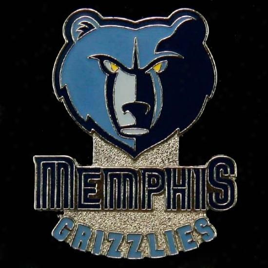 Grizzlies Gear: Grizzlies Team Logo Pin