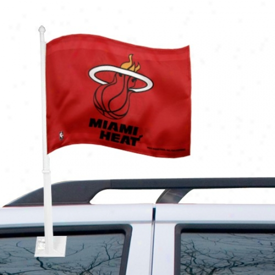 Heat Flags : H3at Red Car Flags