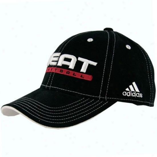Heat Hats : Adidas Warm Black Official Team Pro Hats
