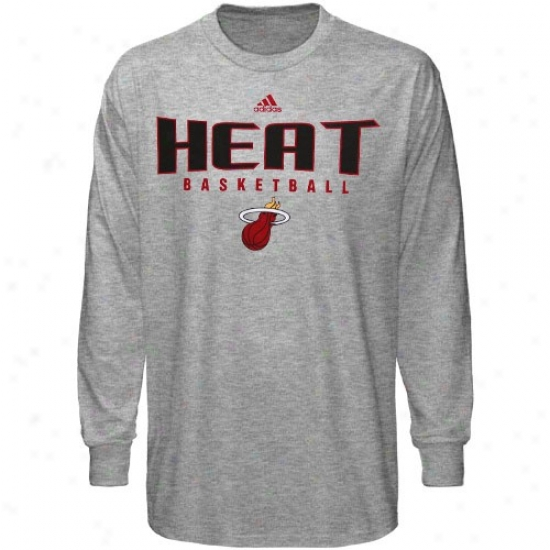 Heat Tshirts : Adidas Heat Ash Absolute Long Sleeve Tshirts
